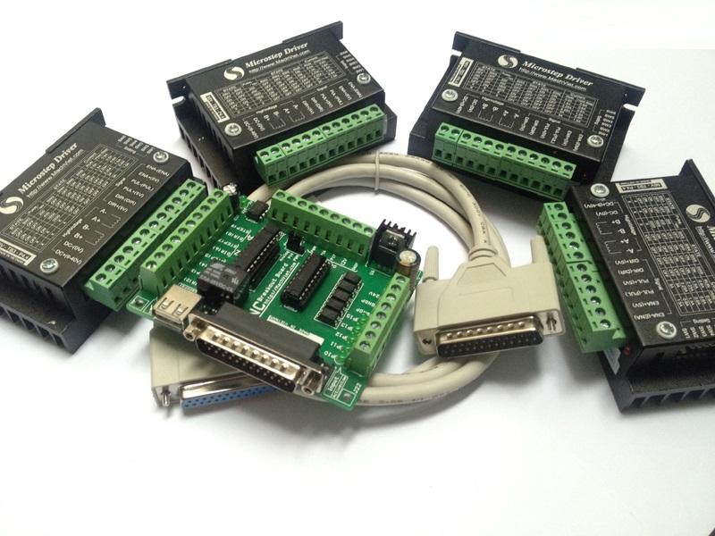 Bộ điều khiển máy CNC 4 trục V4 1