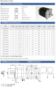 Động cơ bước SUMTOR 86HS8040A4 4A-4Nm-80mm