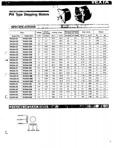 Động cơ bước VEXTA 0.8A-42x48mm
