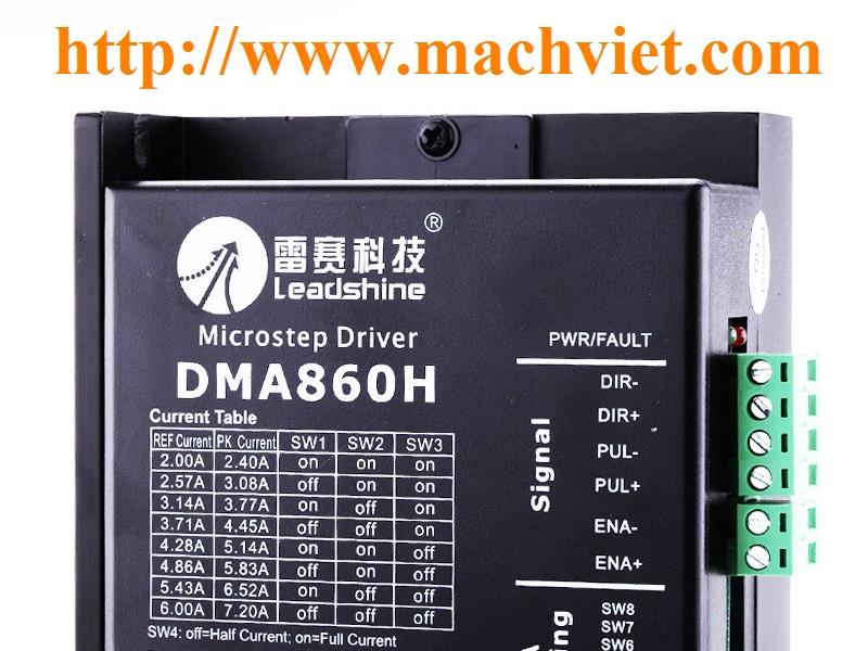 Driver điều khiển động cơ bước DM542 DMA860H Leadshine