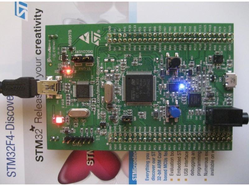 KIT ARM STM32F4 Discovery - Mạch Việt