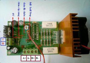 Mạch điều khiển động cơ Bước V2.3