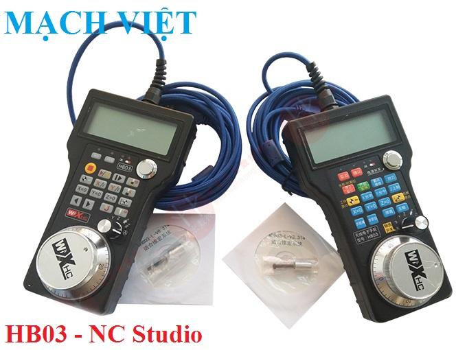 tay cam cnc hb03 ncstudio 1