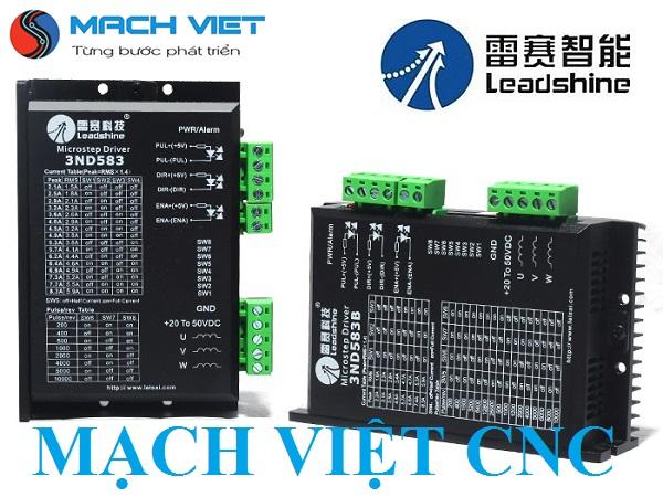 Driver điều khiển động cơ bước 3 pha 3ND583 3DM583 Leadshine