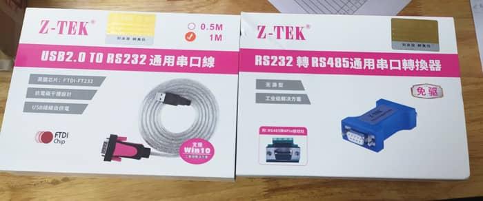 cáp chuyển đổi USB to RS232